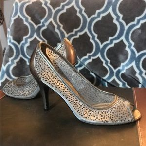 Papell Boutique Shoes - PAPELL Studio Beautiful Rhinestone Heels